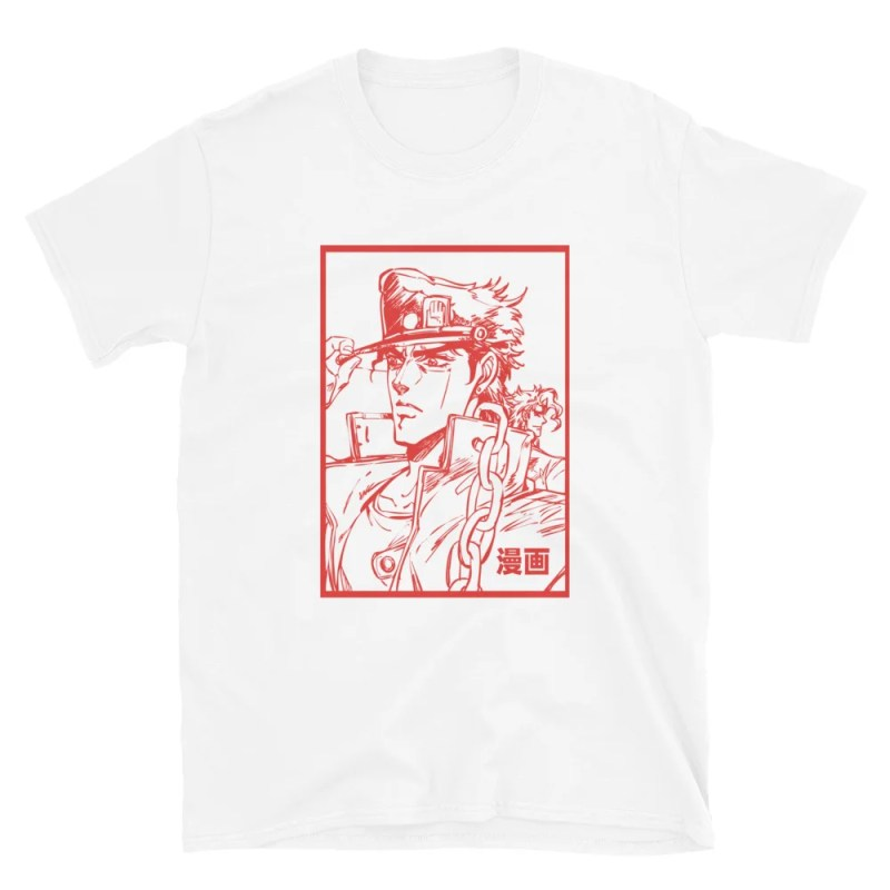 maglietta jojo manga le bizzarre avventure di jojo