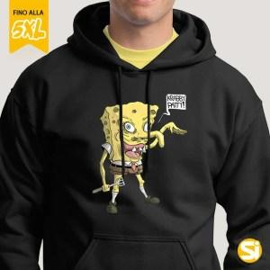 Felpa SpongeBob - Spongy Nera