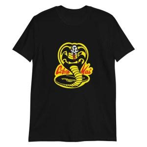 Maglietta Cobra Kai logo film