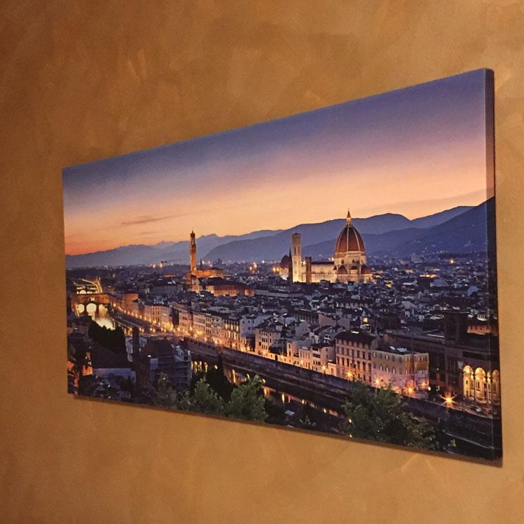 Quadro di Firenze con Tela canvas