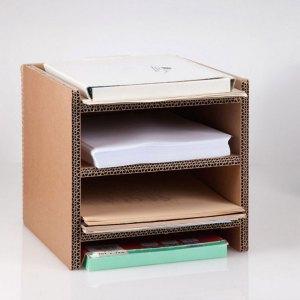 Porta-risme e documenti in cartone