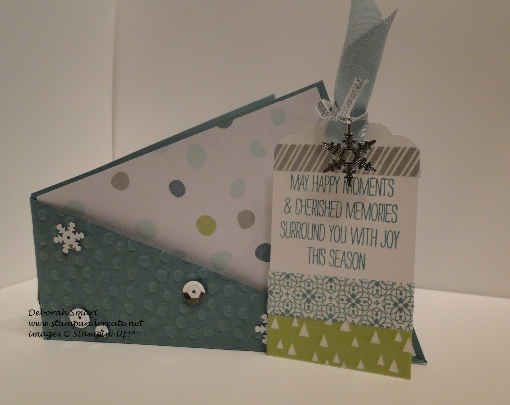 Fold & Twist card