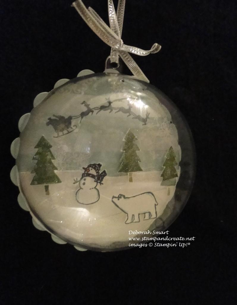 White Christmas Ball ornament