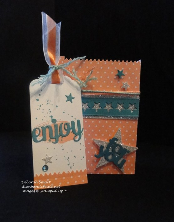 mini treat bag & tag