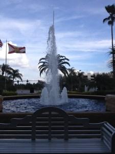 Rosen Plaza - front fountain