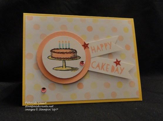 sweet treats big day cake