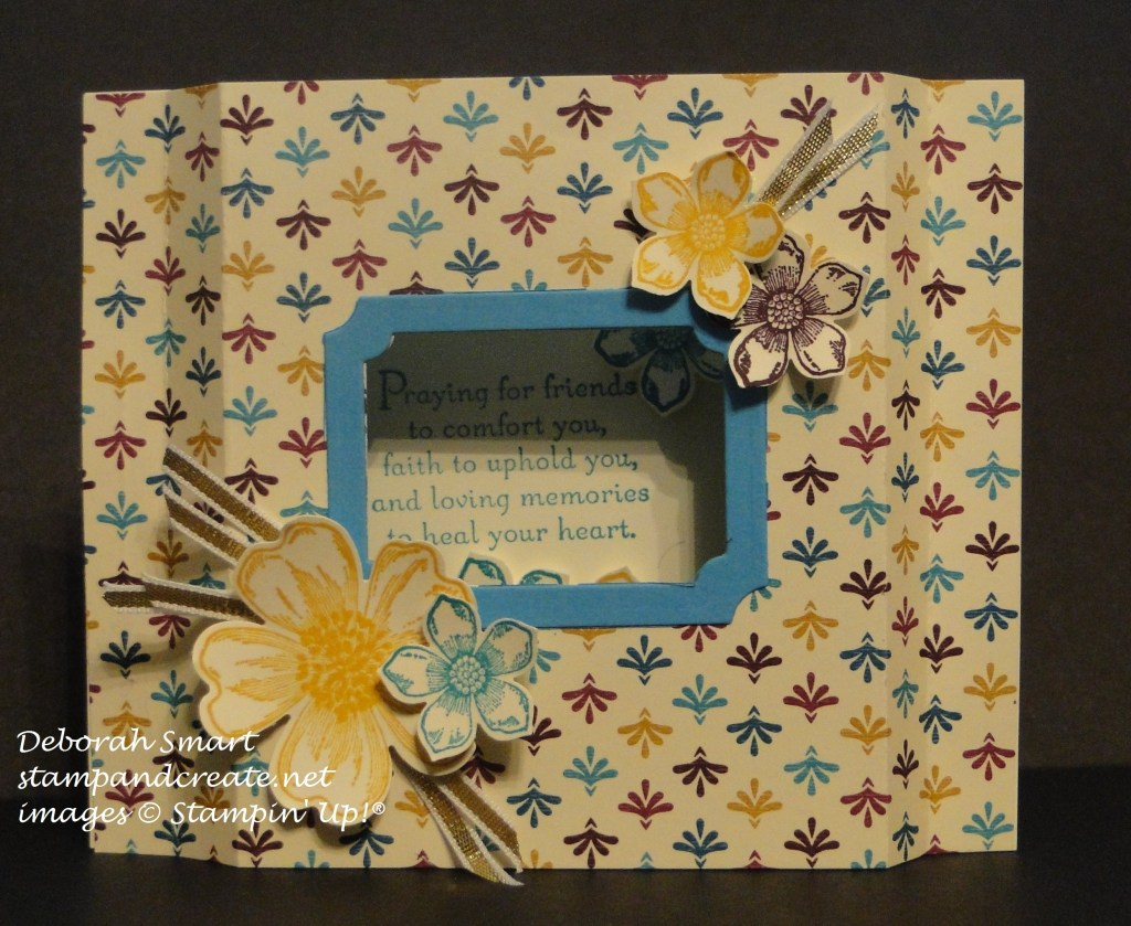 creation stn shadow box card