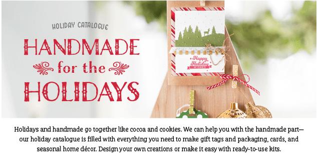 SU holiday catalogue