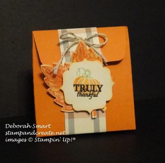 blogging friends - treat bag