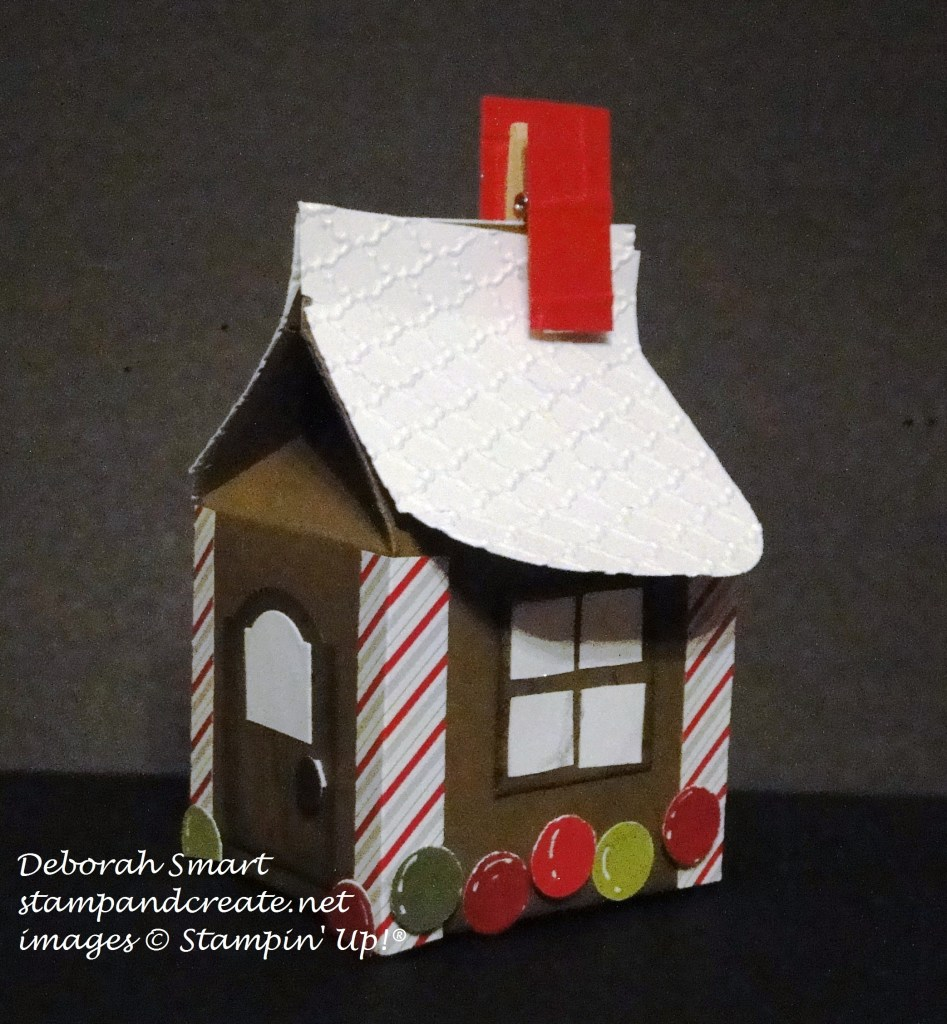 bakers box gingerbread house