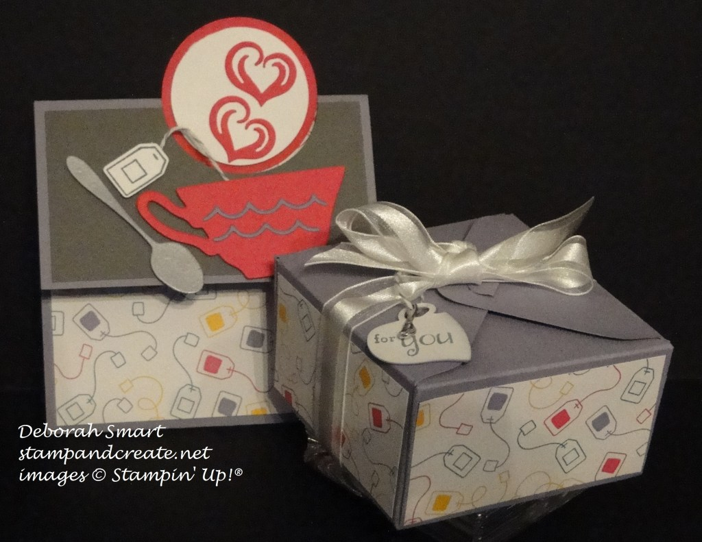 A Nice Cuppa card & box
