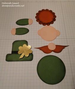 leprechaun partially assembled