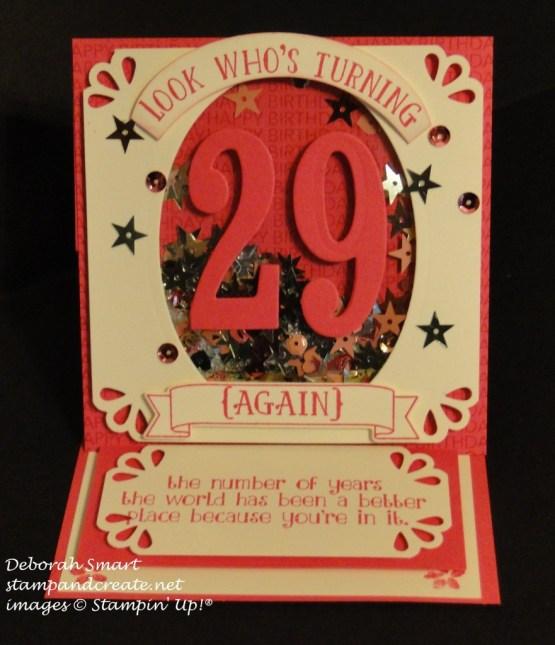 PCCCS186 shaker easel birthday