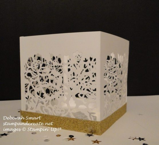 detailed floral thinlits votive holder