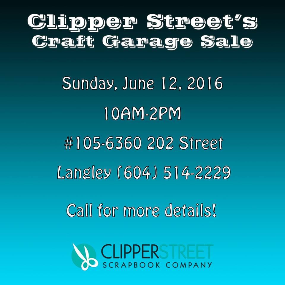 clipper st garage sale