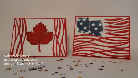 Canada & 4th July cards