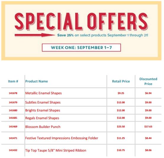 SU special offers wk 1