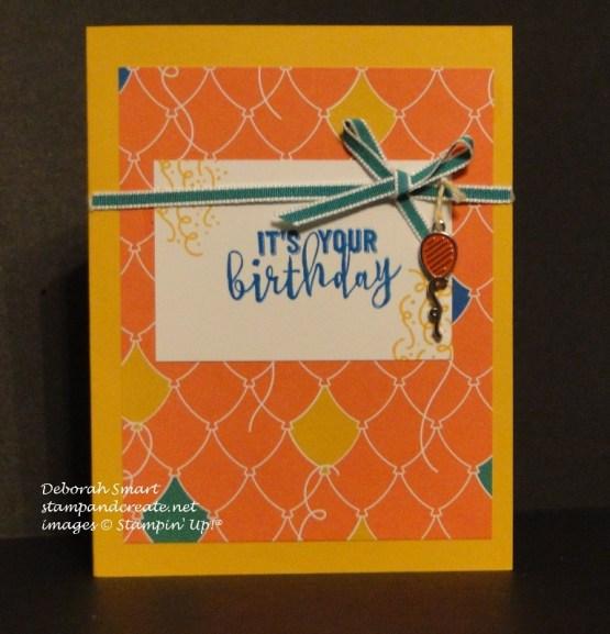 Balloon Adventures Birthday Card