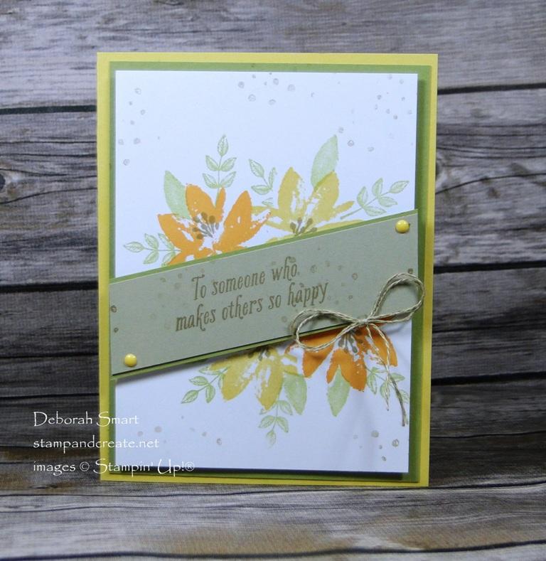 Sale-A-Bration Celebration Avant Garden Sale-a-Bration stamp set