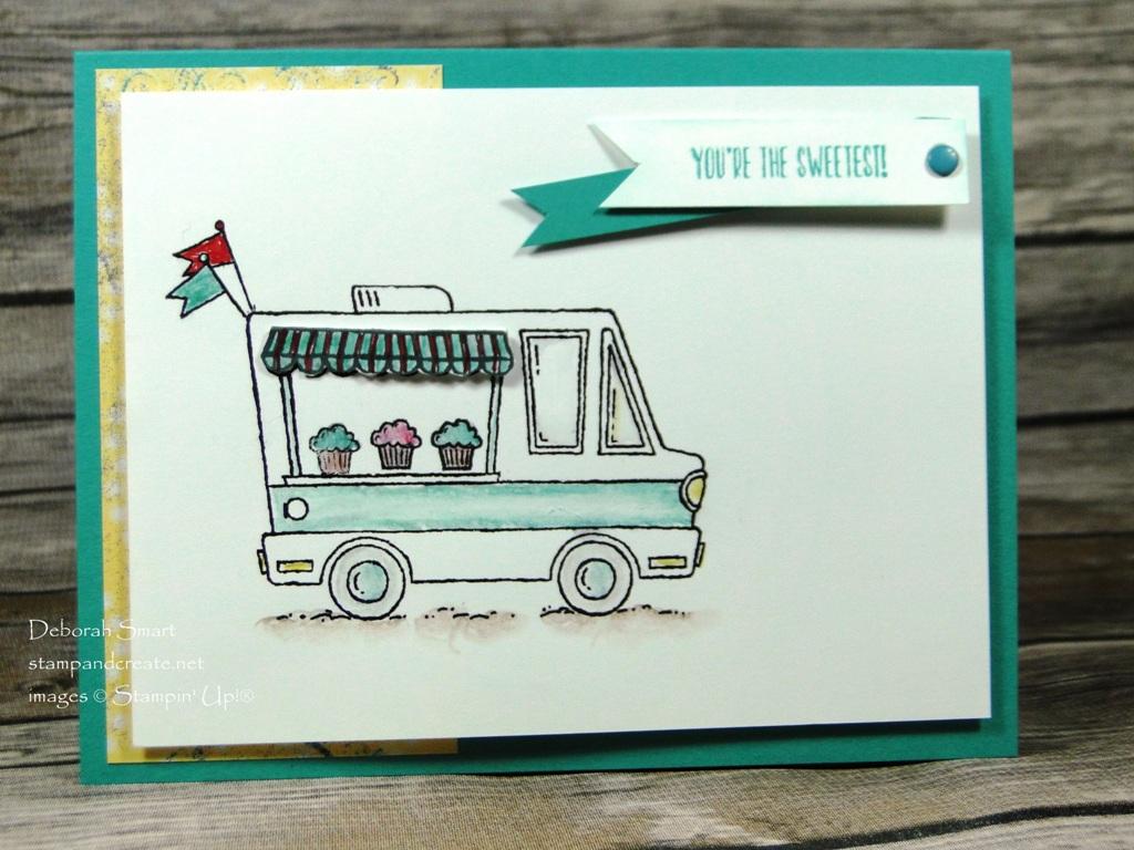 Sale-a-Bration Celebration stamp set Tasty Trucks