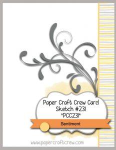 Paper Craft Crew Challenge PCCCS231
