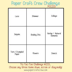 Tic-Tac-Toe Challenge for Paper Craft Crew