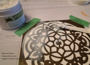 New Embossing Paste