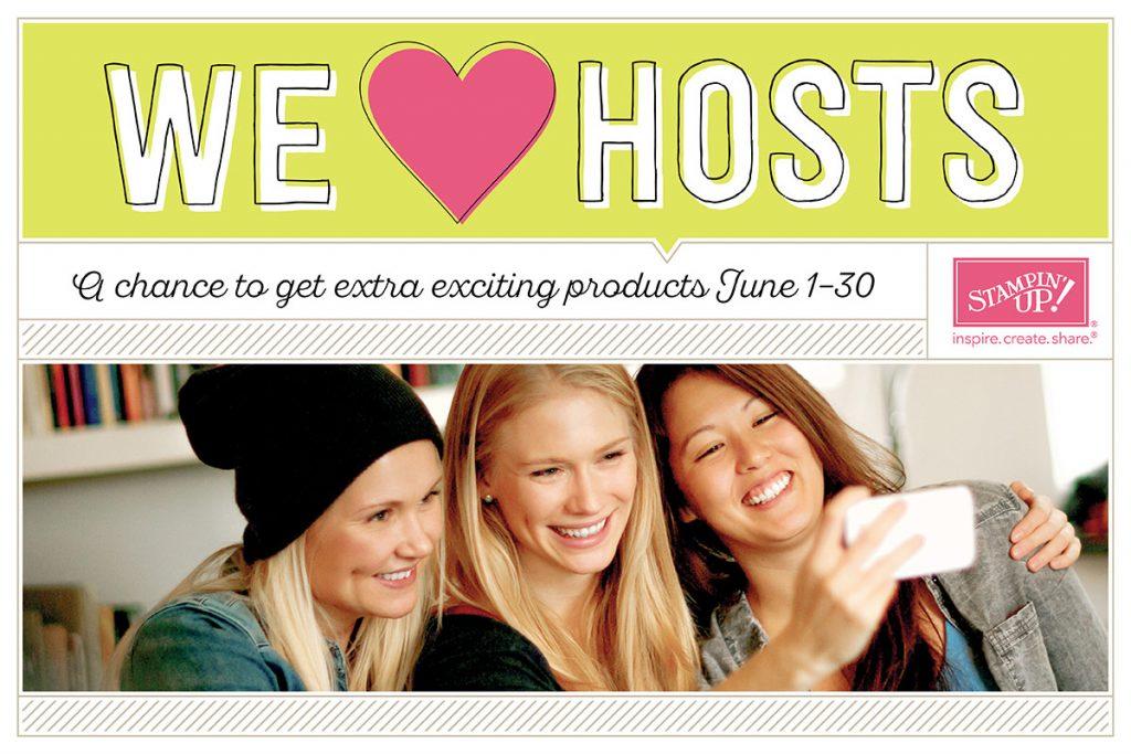 We Love Hosts!