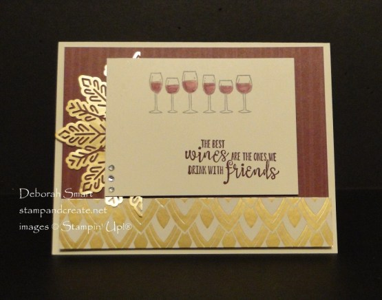 Enjoy Wine with Half Full Stamp Set