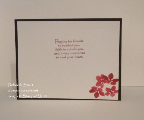 Seasonal Layers Sympathy Card