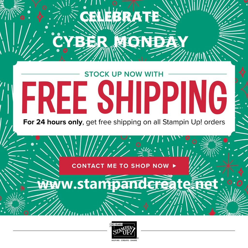 Cyber Monday Free Shipping!