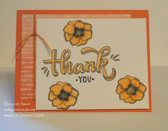 Fun with Stampin' Blends Markers