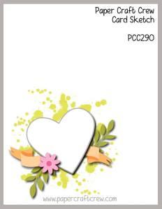 Paper Craft Crew Sketch Challenge PCC290