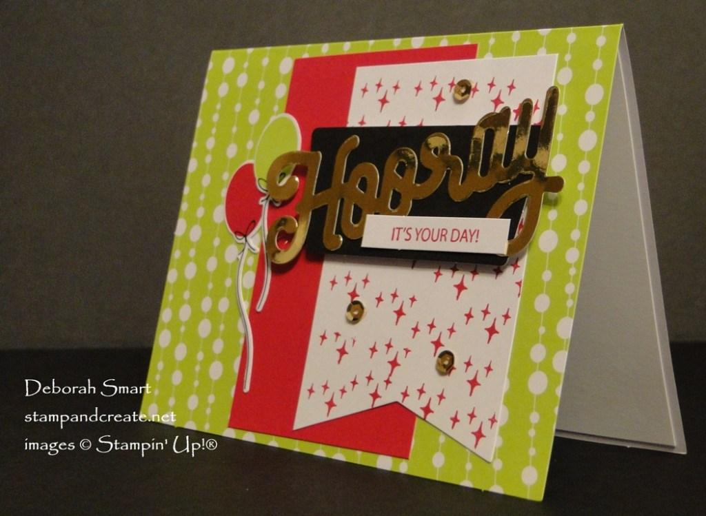 Paper Pumpkin Broadway Star Birthday