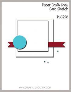 Paper Craft Crew Sketch Challenge Mondrian Inspired