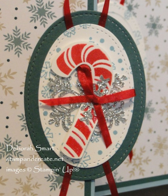 Candy Cane Season Z Fold Card