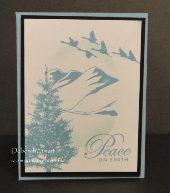 Take 2 Monochromatic Christmas Card
