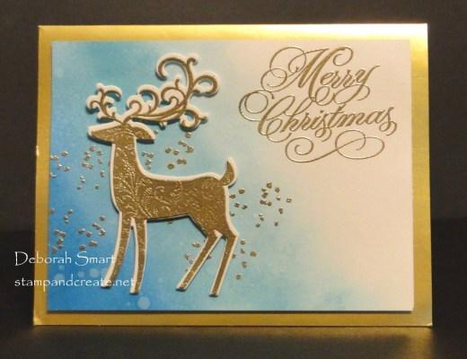 Detailed Deer on Blended Background