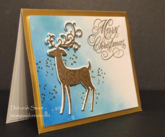 Detailed Deer with Blended Background