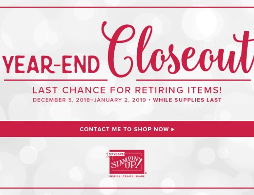 Year End Closeout Ending Soon!