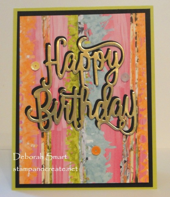 Easy Card For New Stampers
