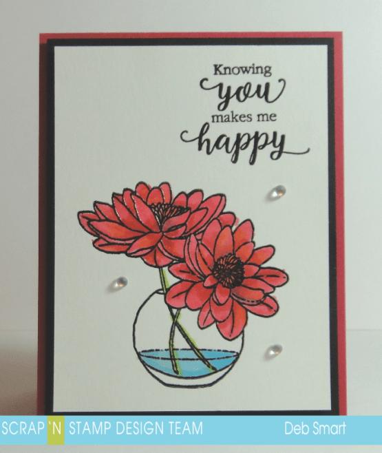 Scrap 'N Stamp Floral Frenzy Blog Hop