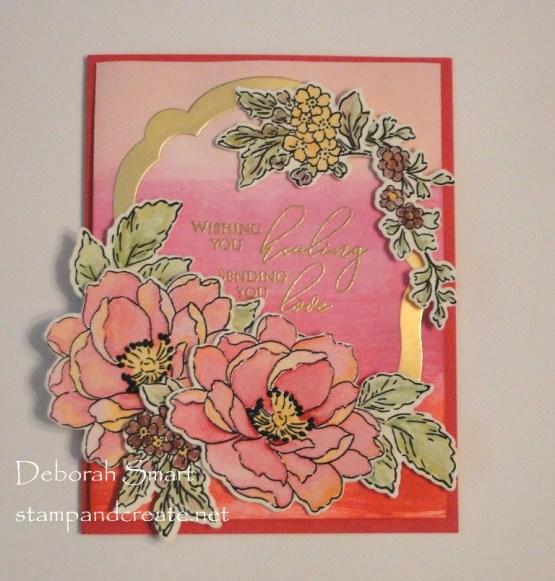 Watercoloured Sympathy Card