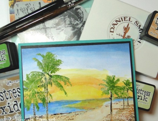 Paradise in Watercolour Paints
