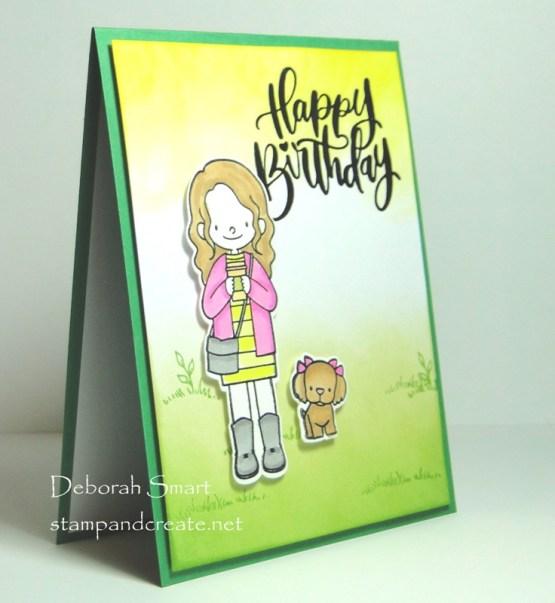 A Friendly Happy Birthday Card