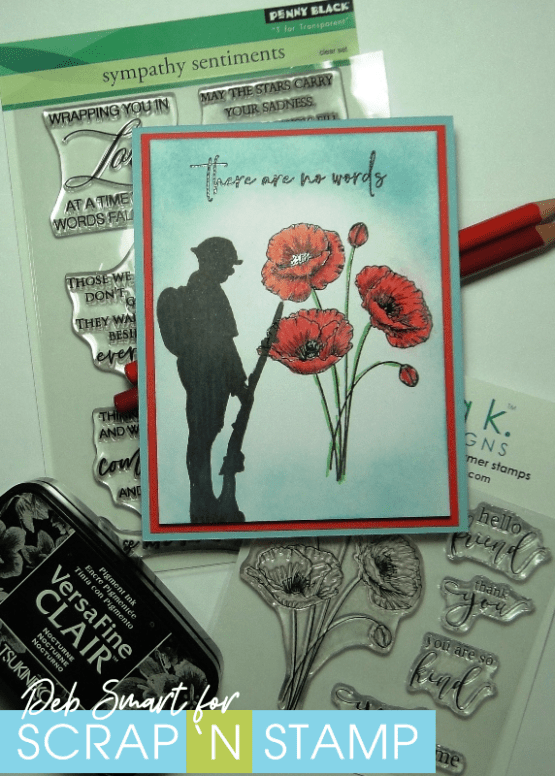 Poignant Poppies Scrap 'N Stamp Blog Hop