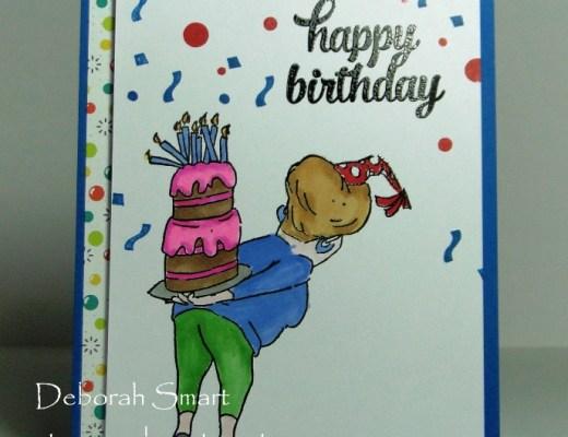Happy Birthday with Cake