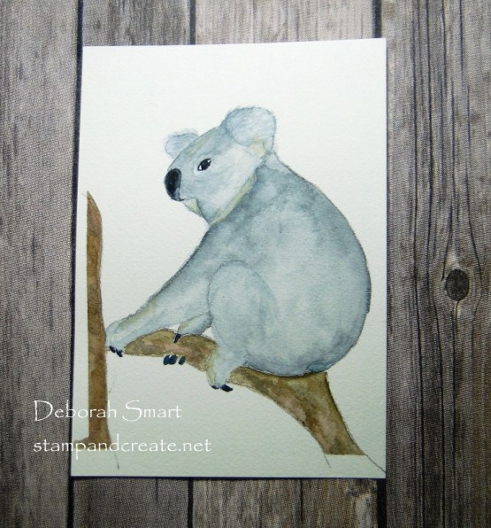 Watercolour Koala