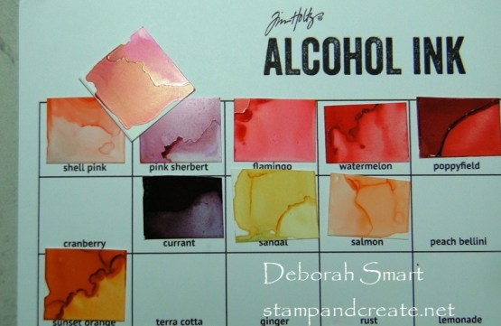 New Alcohol Ink and Alloys