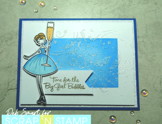 Stencil Us In - Scrap 'N Stamp Blog Hop